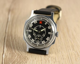 Ussr watch, Pobeda watch, soviet watch, mens watch, military watch, mechanical watch, russian watch, watch for men, mens watches, zim watch