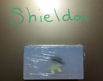 SHIELDON pokemon inside Glycerin Soap Bar