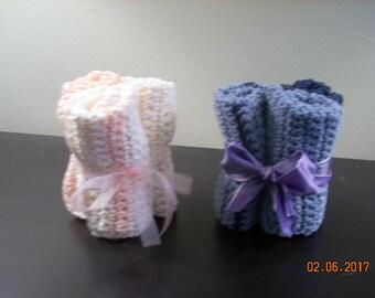 Crocheted Spa Washcloths