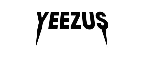 Vinyl Decal Sticker - Yeezus Decal Inspired by Kanye West for Windows, Cars, Laptops, Macbook etc