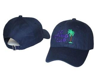 navy blue do nothing baseball cap
