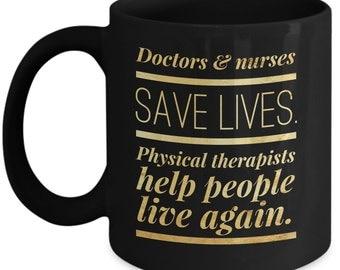 Physical therapy mug | Etsy