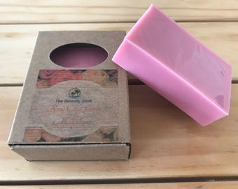 English Rose Clay and Lilac Soap