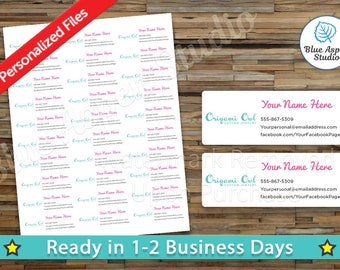 Origami owl labels   Etsy