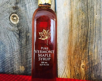 16.9 oz Amber Rich Maple Syrup