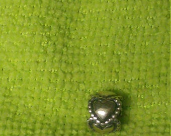 Pandora Charm Hearts. Sterling Silver