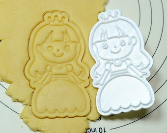 Princess Mary Cookie Cutter and Stamp