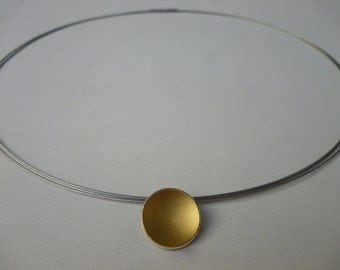 Trailer (14mm) concave shell 900 gold and silver 935