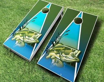 Fish Cornhole Boards