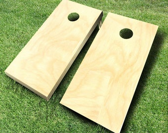 Plain Cornhole Board Set