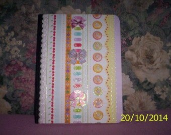 Pretty Decorated Journal