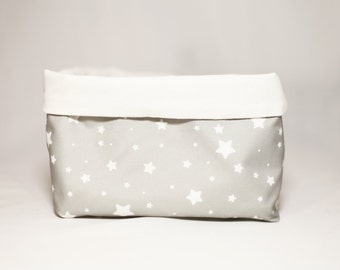 Tissue storage basket