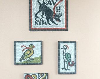 Roman mosaic replicas