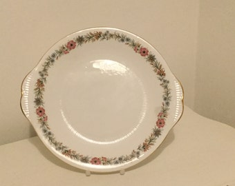 Belinda Bone China Cake Plate