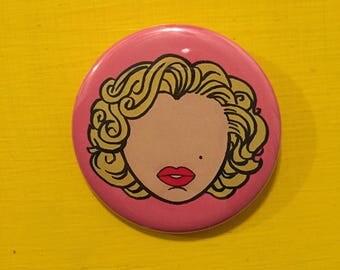 Marilyn Monroe Pinback Button