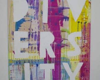Diversity   Artwork   Painting   Acrylic painting