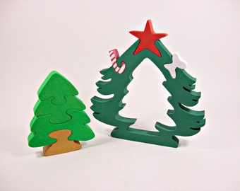 Christmas Gift Toys for Kids Waldorf Learning Toys Herringbone Tree Toy Birthday Gift Handmade Eco Friendly Toys