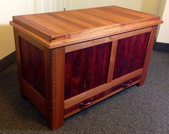 Mahogany Blanket Chest