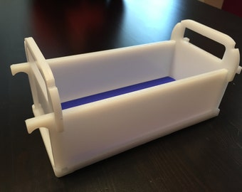 Soap mold, block mold, HDPE, 30 cm