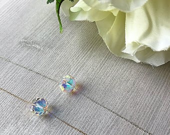 Beautiful Swarovski Crystal Wedding Day Necklace