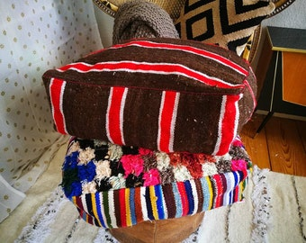 Moroccan cushion kilim cushion cushin moroccan poufs pillow cushion berber cushion cushion berber poufs oreiller