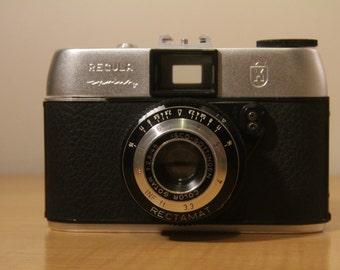 1963 King Recula Sprinty (Rectamat) camera +Original case