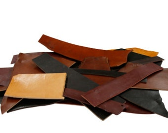 5lb Leather Scrap. Domestic Leather. USA Leather Scrap. Great For Crafting. Practice Leather. Premium Leather Scraps. Assorted Colors.