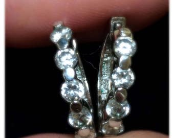 925 Silver and CZ solid quality