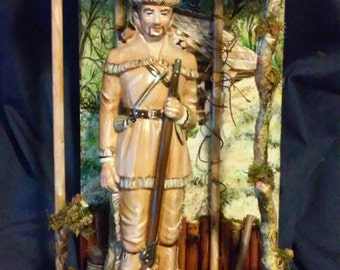 Davy Crockett Diorama