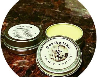 Calendula Skin Salve / 0.5 ounces / Healing Skin Salve / Michigan Ingredients / Handcrafted in Detroit / Essential Oils