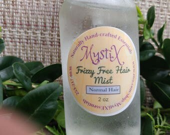 Handmade Frizzy Free Shiny untangle Oil Hair Mist/ spray conditioner For her