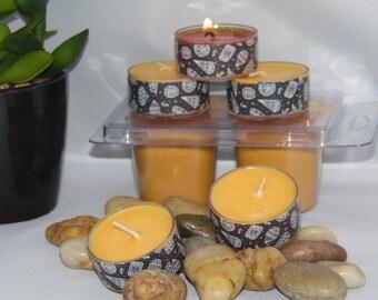 Egyptian Amber Soy Wax Tea Lights