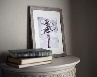 Anniversary/Wedding  Street Sign