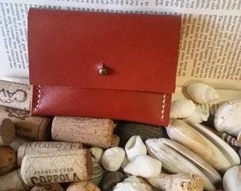 Sienna Genuine Leather Credit Card Holder/Wallet