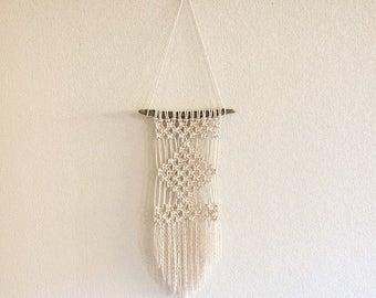 Aranck - Wall macramé rope of cotton