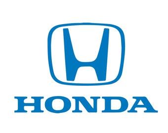 Honda Window Decal Sticker Vinyl Custom Civic SI Type-R Accord