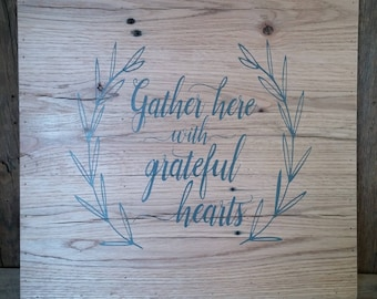 Reclaimed Wood, Rustic Sign