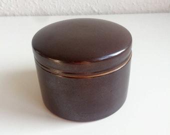 L. Hjort - Medium Lidded Jar - Danish Design