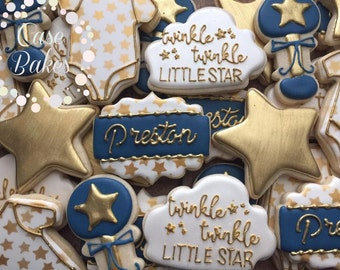 Twinkle Twinkle Little Star baby shower - 1 dozen
