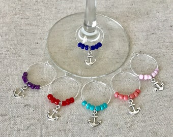 Anchor Wine Charms