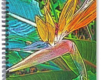 Bright Idea Note/Sketchbook:  Bird of Paradise (Botanica Series)