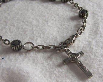 Vintage Rosary Bracelet