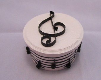 Musical Paper Quilled Box