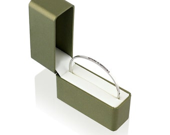 Nothing Is Impossible bracelet by FaithfulBand - Inspirational Gifts, Christian Bracelet