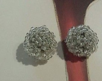Vintage Western Germany Clip on Earrings - Free US Shipping