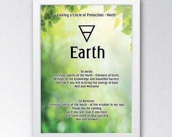 Wicca/Pagan Circle Casting Prints