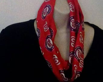 Washington Nationals Infinity Style Scarf