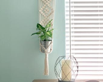 Macrame Plant Holder Wall Hanging