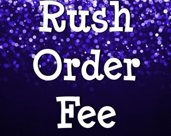 House of Style Graphics Rush Order Fee