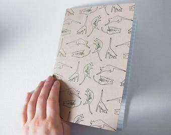 Book - Positions of cats / journal, notebook, notebook, notebook, stationery